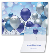 Celebration Balloons - Anniversary Card
